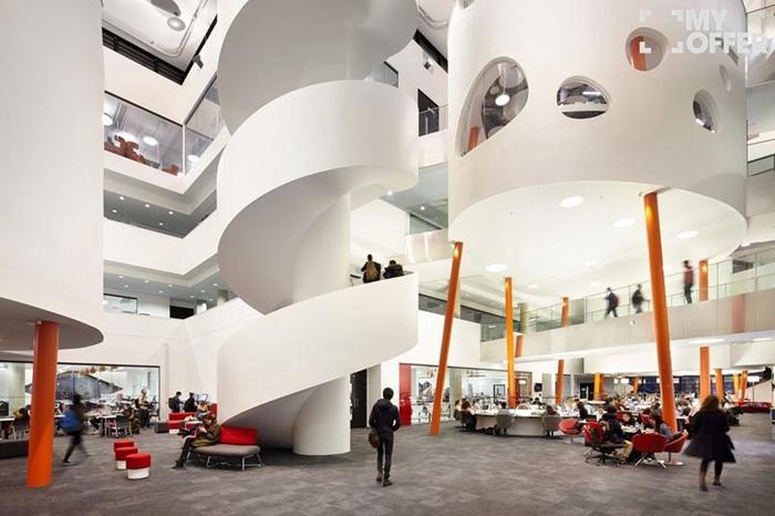 谢菲尔德大学Dianmond建筑内部